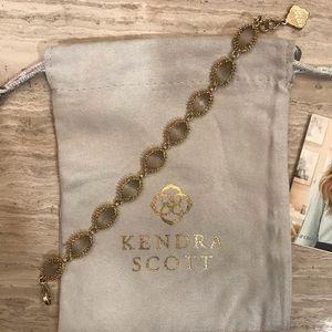 Kendra Scott Jana bracelet   Slate Cats Eye